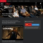 Event Cinemas $25 Gold Class for Cinebuzz Members - Every Monday in March