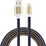 $1 Comsol Lightning to USB Cable 1m Denim Officeworks instore only VIC WA