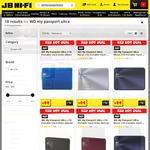 WD My Passport Ultra Metal Edition Portable HD 1TB $69/2TB $99/3TB $169/4TB $179 Delivered @ JB Hi-Fi