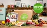 Hello Fresh Classic or Vege Box: 3 Meal 1 Week $20, 3 Meal 2 Week $35 or Family Box 4 Meal 1 Week $40 @ Groupon