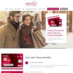 Earn Double Points When Using Velocity Global Wallet Visa Pre-Paid Debit Card