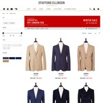 Men's Blazers, Coats & Knits. Further 15% off Winter Sales Prices @ Stafford Ellison
