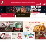 KFC Mates Burger Box - $29.95 (4 Burger/Twister Combo's + 8 Original Tenders)