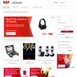 Westpac Altitude 15% Savings on Cashback of Altitude Points