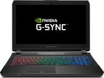 """15.6"""" Metabox Prime P650HP-G - GTX1060, i7-7700HQ, 256GB SSD+1TB, 8GB RAM, G-Sync, No OS - $1759 Shipped (Save $100) @ Kong"""