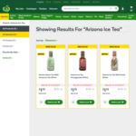 Arizona Iced Tea - Promotion at Woolworths $1.75