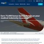 75,000 Bonus Qantas Points with MIGA Medical Indemnity Insurance