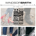 30% off at Windsor Smith