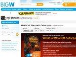 World of Warcraft Cataclysm - Big W - $37.96