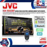 JVC KW-R920BT Double-Din Bluetooth CD USB Head Unit $130.50 Delivered @ Brand Beast eBay