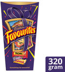 >1/2 Price Cadbury Favourites 320g (Currently $13.20) $6.00 at Coles