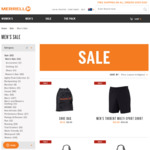 Shorts $10, Backpack $30, Softshell Jacket $30 (Spend $70 Get $20 with AMEX Offers, Shipster Free Shipping > $25) @ Merrell