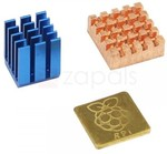 3PCs Raspberry Pi 3 Model B Heatsink Copper Heat Sink Cooling Kit US $0.95 ~AU $1.24 Delivered @ Zapals