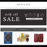 MensBiz - 20% off Everything Sale