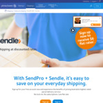 Send Same City Parcels up to 25kgs at $5 via Pitneybowes/SendPro + Sendle