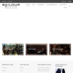 Men's Formal Shoes & Accessories - Stock Clearance Sale Store Wide up to 70% Off + Free Shipping within Australia @ Bailour