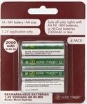 [VIC] 50% off Solar Magic Rechargeable 2000mAh 4x AA - $5.50 @ Bunnings Mentone