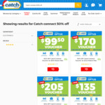50% off 365 Day Catch Connect Mobile Plans (31GB Data for $17/Month) @ Catch (Club Membership Required)
