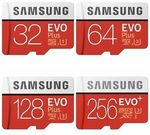 [eBay Plus] Samsung Evo Plus 256GB Micro SD Card $67.50 Delivered @ Tech Mall eBay