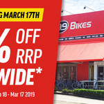 [QLD] Closing Down Sale 20% Off Storewide Floor Stock Only @ 99 Bikes, Windsor