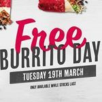 [NSW] Free Burrito 19/3 @ Mad Mex (Central Station)