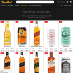 10% off Select Alcohol When You Spend over $150 (Max $50 Discount) @ Boozebud