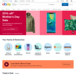 15% off 9 Sellers (Min. Spend $50, Max Discount $500) @ eBay