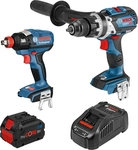 Bosch Blue 2 Piece Heavy Duty Kit with ProCORE18V 8.0ah Battery and Fast Charger $299 @ Bunnings