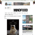 Win 1 of 10 Double Passes to Apollo 11 Worth $40 from MiNDFOOD