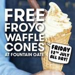 [VIC] Free Frozen Yogurt Waffle Cones All Day Friday (12/7) @ YOMG (Fountain Gate Shopping Centre)