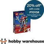 LEGO Ideas Voltron 21311 $201.52 Delivered @ Hobby Warehouse eBay