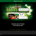 Win a XBOX One & Gears 5 Prize Pack Every Day When You Purchase Doritos Crackers at Woolworths