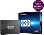"Gigabyte SSD 2.5"" 480GB $59.20 (Expired), 240GB $33.60, 120GB $25.60 + Delivery ($0 with eBay Plus) @ Futu Online eBay"