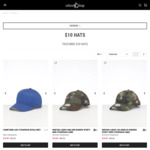 Assorted Caps, Snapbacks and Beanies for $10 + Shipping (Free over $100) @ Culture Kings