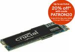 Crucial MX500 M.2 SSD 1TB $140 + Delivery ($0 with eBay Plus) @ Futu Online eBay