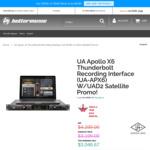 Universal Audio Apollo X6 + Bonus UAD Quad Satellite $3,046.67 Shipped @ Better Music