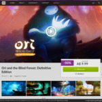 [PC] Ori and The Blind Forest: Definitive Edition -50% AU $9.99 @ gog.com