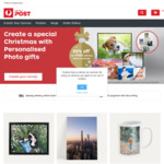 50% off The Personalised Photo Gifts Range + Free Delivery @ Auspost