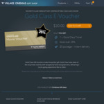 Gold Class Movie Vouchers $30 @ Village Cinemas