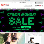 Cyber Monday 20% Off Everything @ Famous Footwear Australia