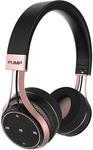 BlueAnt Pump SOUL Wireless Sports on Ear HD Headphones - Black/Rose Gold $67 + Delivery @ Kogan