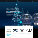 Free Vive Wireless Adapter When Buying with HTC Vive Pro (Worth $599), or Save $150 on Cosmos or Wireless Adapter for Vive Pro