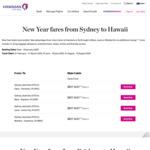 Honolulu/Maui/Lanai/Molokai, Hawaii Return from Brisbane/Sydney $857 on Hawaiian Airlines