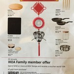 [NSW] Bonus 10% Voucher of Total Purchase for $250+ Spend @ IKEA Tempe (Family Membership Required)
