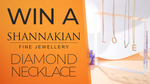 Win a Shannakian Fine Jewellery 9ct Diamond Initial Necklace Worth $750 from Seven Network