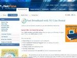 MyNetFone Naked ADSL2+ Plans (Free Setup + Free Modem)
