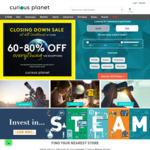 Curious Planet - Closing down Sale - up to 70% off