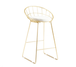 Kylie Wire Barstool Nordic Design Kitchen Stool Gold from $148.50 (10% off) Shipped @ Lectory