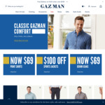 25% off Full Price Products at Gazman Menswear