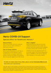 Free Car Rental for Health Workers @ Hertz & Ford